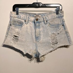 Forever 21 |Distressed Cutoff Short's